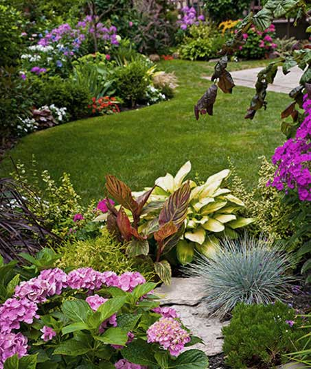 True Vine Landscape Management, Inc. Garden Design